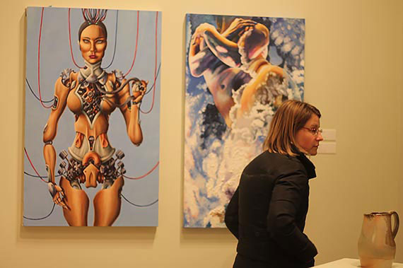 Juniata College Museum Student Art Exhibition, Spring 2015