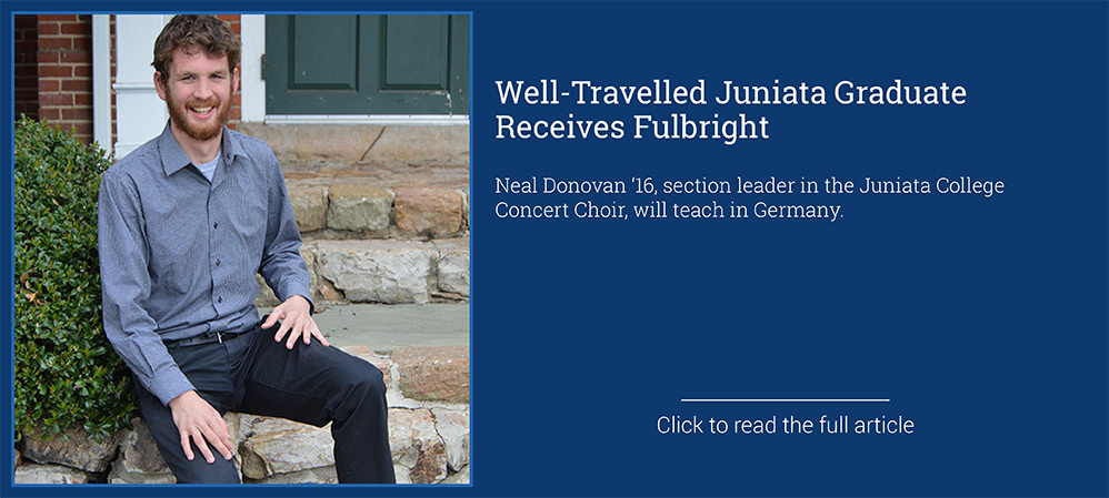 Donovan Receives Fulbright