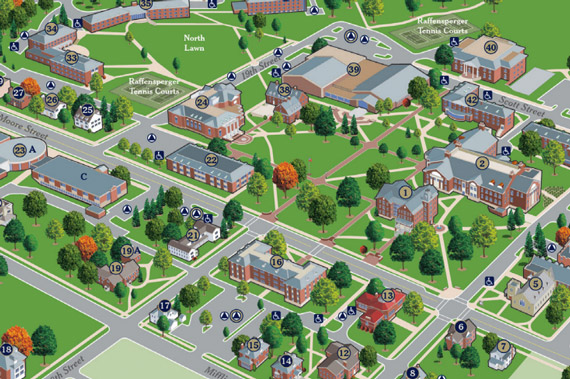 Campus Map Photo