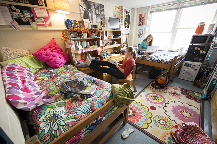 Tussey-terrace dorm room