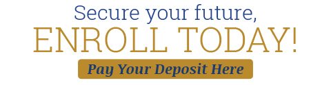 Pay Your Deposit Here