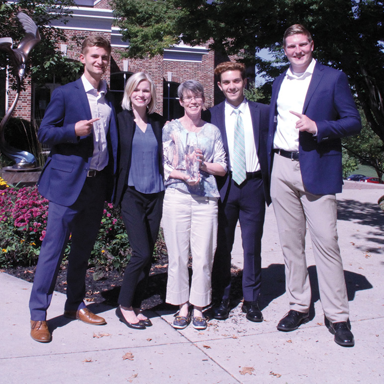 Team Makes a Case for Success at National Competition