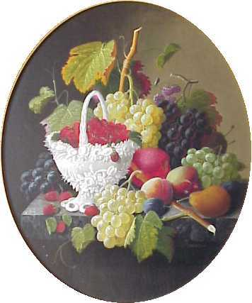 Still Life with Fruit at Juniata College