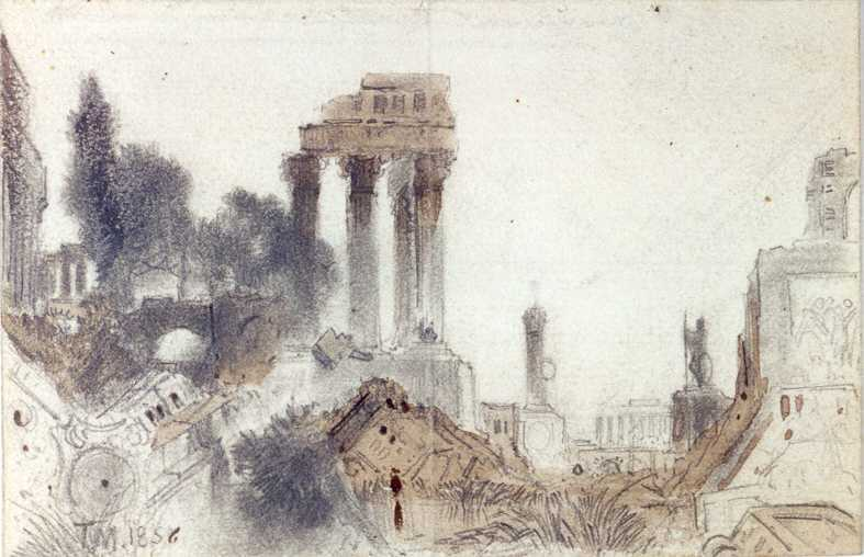Ancient Ruins Thomas Moran at Juniata College