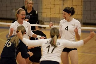 volleyball at Juniata College
