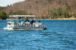 Boating at Raystown Juniata College