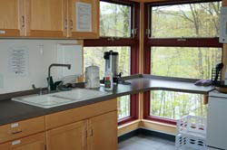 Juniata College shuster kitchen