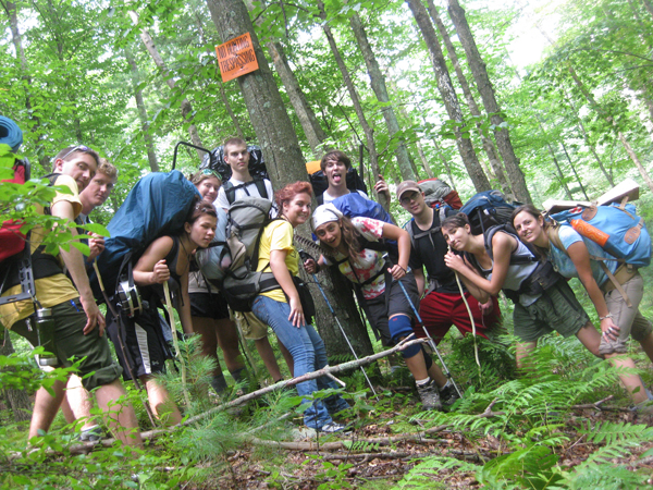Backpacking at Juniata College