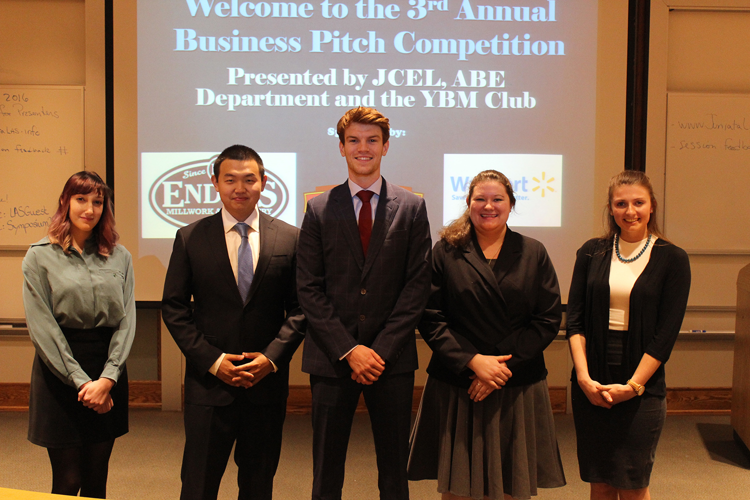 Business Pitch Participants at Juniata College