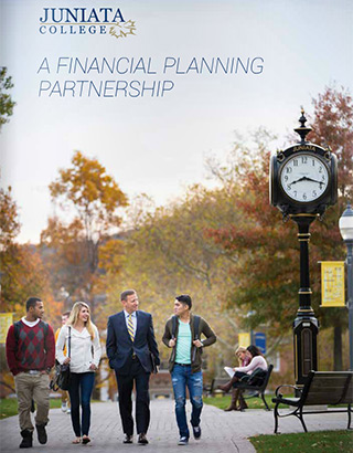 Cover of Juniata College Financial Planning Brochure, 2016