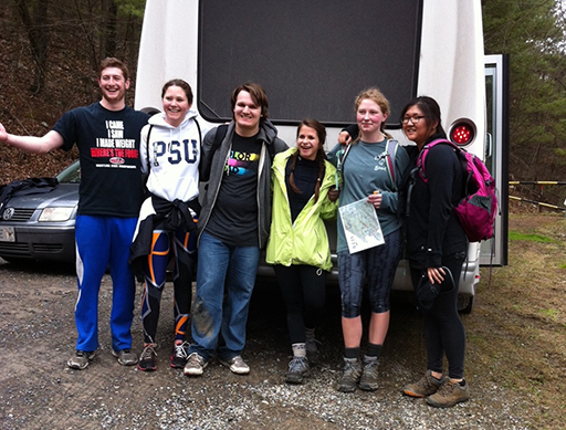 More Juniata Students on the HOBO Hike