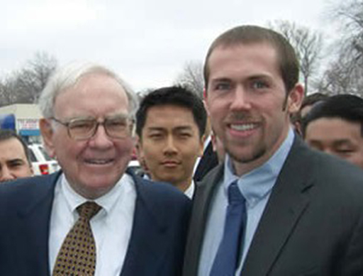 Juniata Student meets Warren Buffet