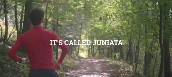 Student running trails and sidewalks in Huntingdon County Pennsylvania