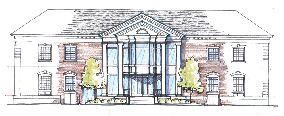 Ellis Hall rendering
