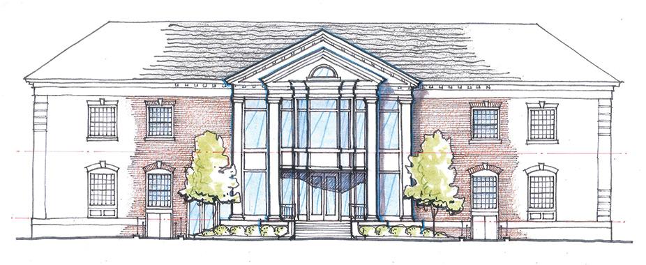 Ellis Hall rendering