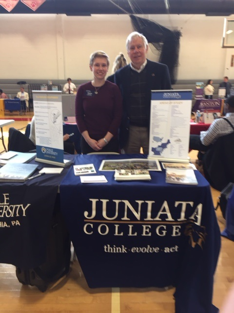 03-22-2017 Bill Chew and Alisha Boerstler College Fair