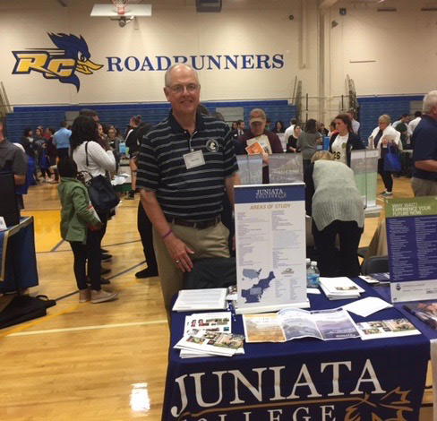 Dan Sell Juniata College Fair