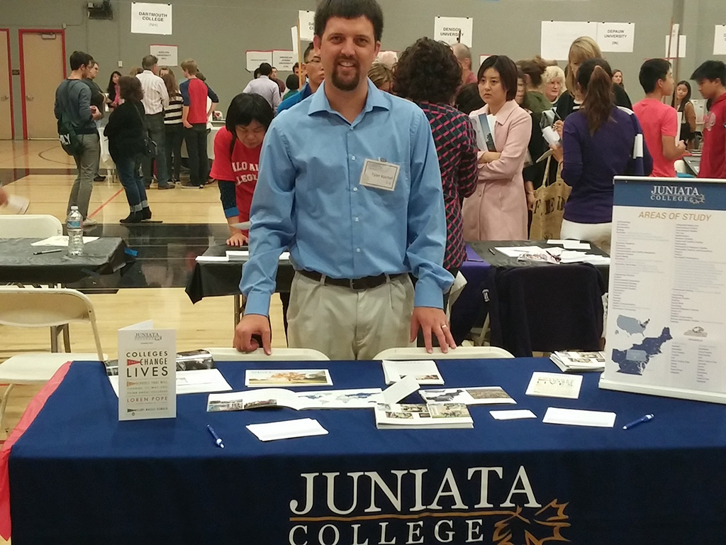 Tyler Kochel Juniata College Fair