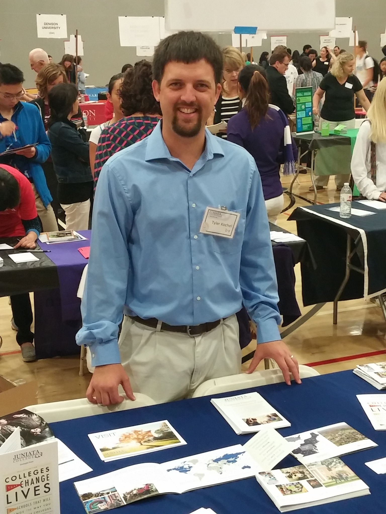 Tyler Kochel College Fair