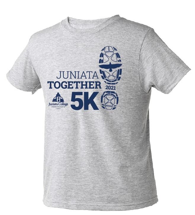 5K t-shirt artwork