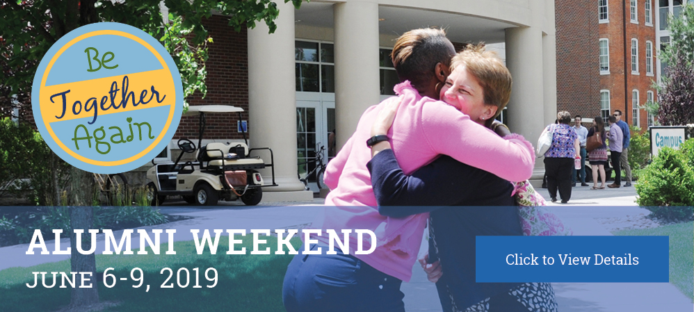 Learn More About Alumni Weekend 2019
