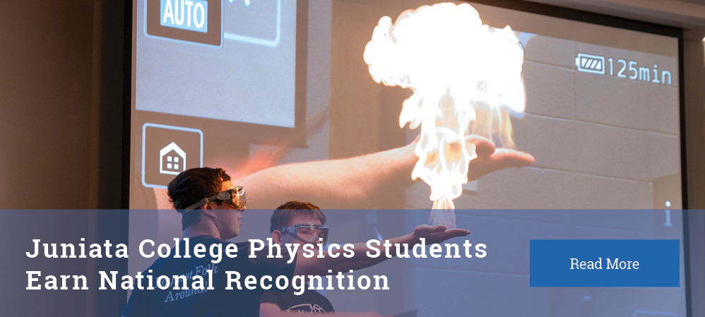 Physics Students earn National Recognition