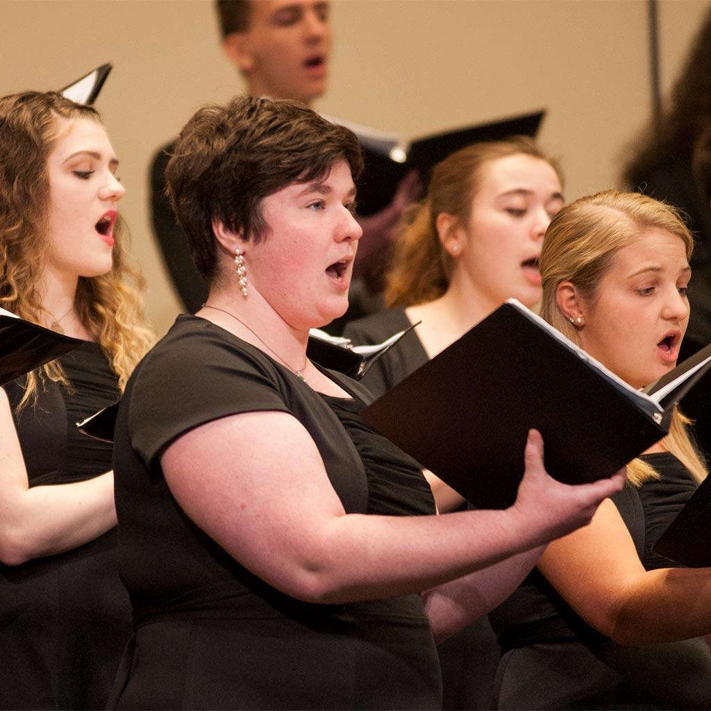 Juniata College concert choir