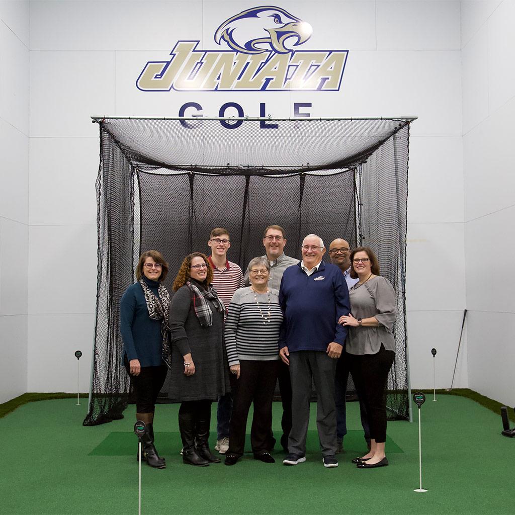 Juniata College Golf Center dedication