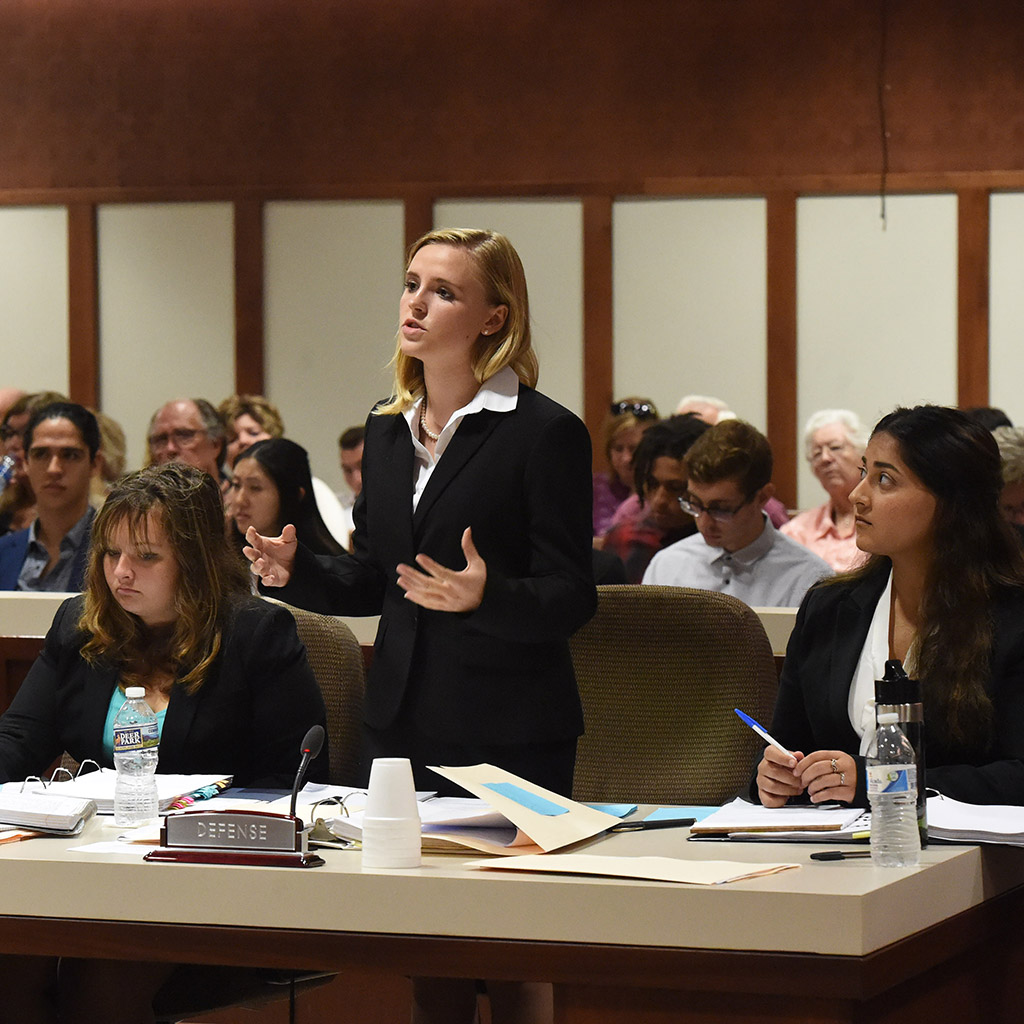 Juniata College mock trial team
