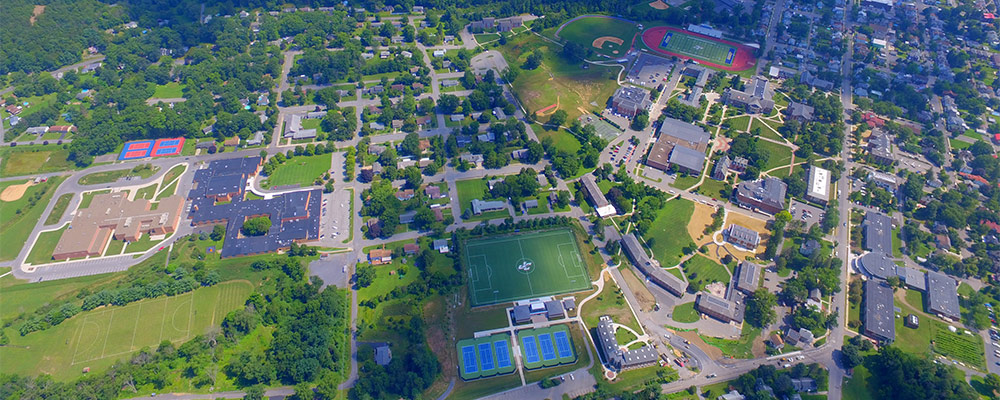 Juniata College aerial