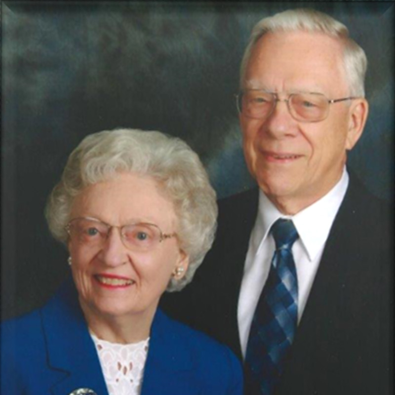 Barbara '55 and Roy Rollman '55