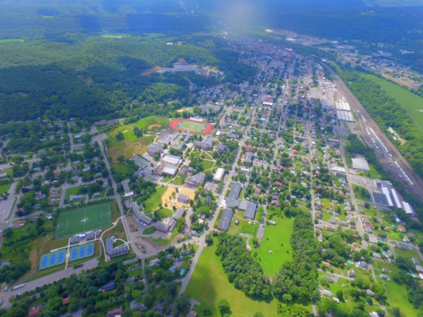 Juniata College Campus Aerial