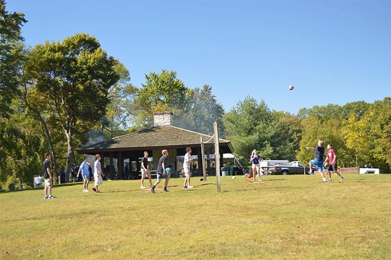 Juniata College Mountain Day Volleyball