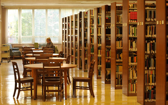 beeghly library at juniata college
