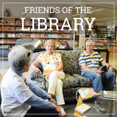 Link to Friends of the Library