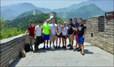 MBA at the Great Wall of China