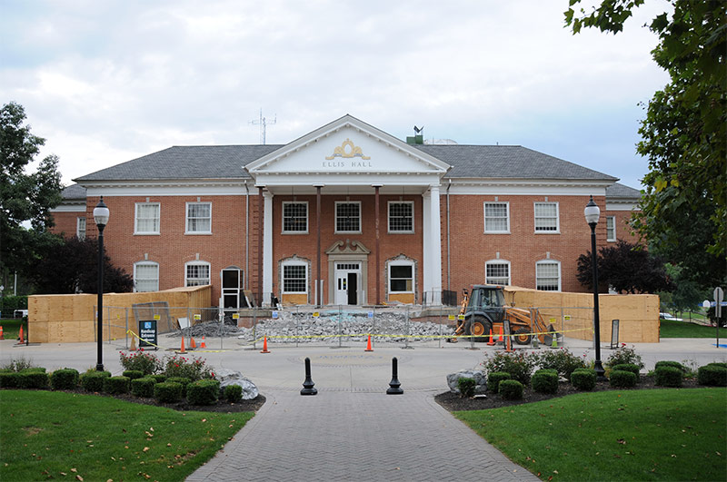 Ellis Hall before