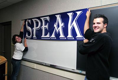 Communication class at Juniata College