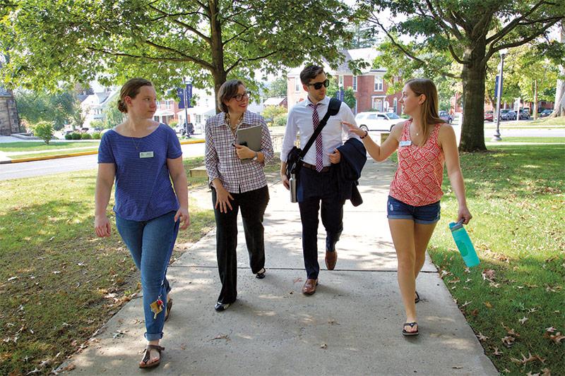 EVERFI tours Juniata College