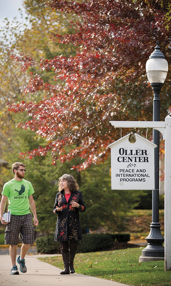 Recent events inspire research for both faculty and students in the field of peace and conflict studies, according to Polly Walker, director of The Baker Institute and associate professor of peace and conflict studies.