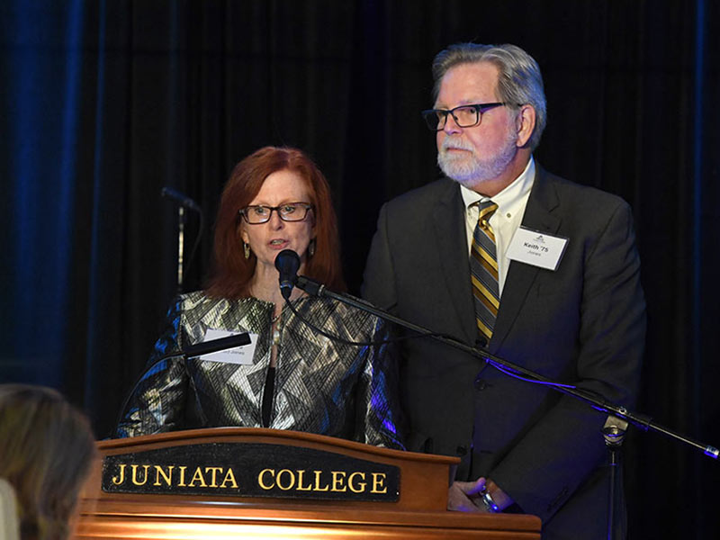 Keith and Elaine Jones