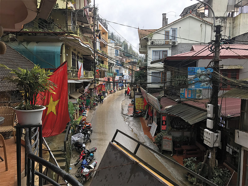street in Vietnam