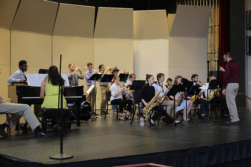 Jazz Ensemble Performance 004