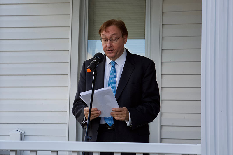 Dedication of the Glaeser Center for Counseling Services 011