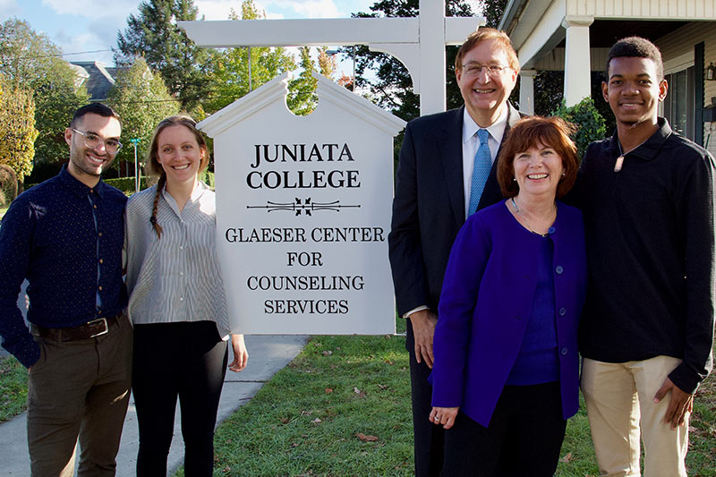 Dedication of the Glaeser Center for Counseling Services 035