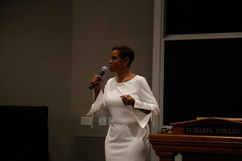 Womens History Month address Donna Edwards004