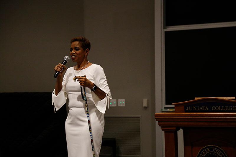 Womens History Month address Donna Edwards009