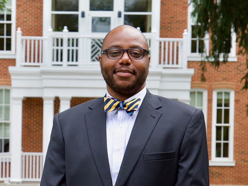 Reggie Onyido, acting director of Equity, Diversity, and Inclusion