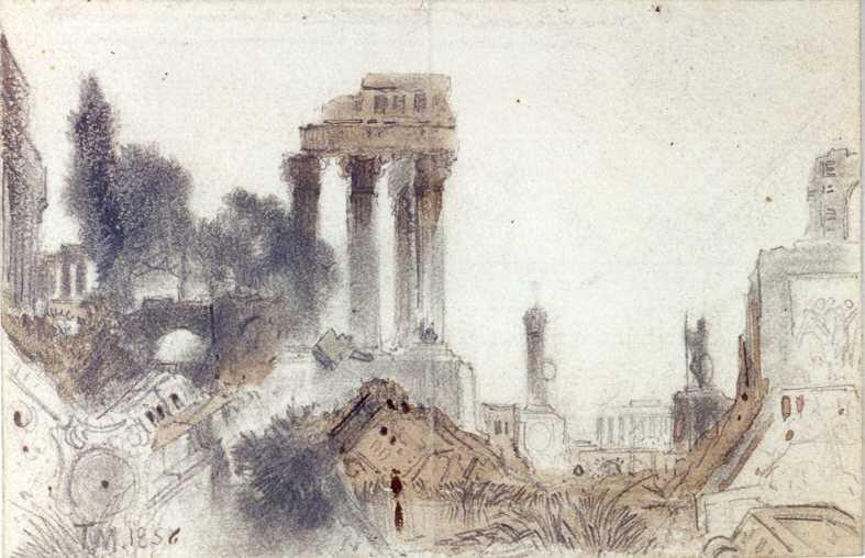 Ancient Ruins Thomas Moran at Juniata College