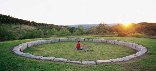 Peace Chapel Landscape at Juniata College